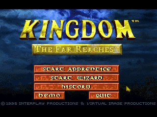 Screenshot Thumbnail / Media File 1 for Kingdom - The Far Reaches (1994)(Interplay)(Eu)[CDD7954]